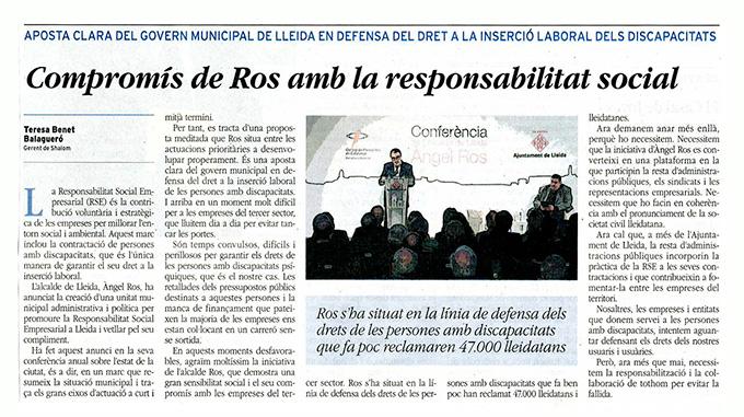 Article La Mañana
